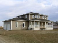 Moose Jaw Acreage Two Story New Home Construction