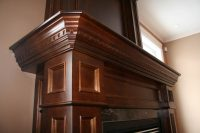 Fireplace Mantel Custom Finishing
