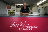 Larry Sentes, the owner of Andy's Transmission & Automotive