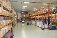 Warehouse of Products and Equipment