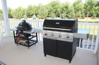 Quality BBQ's Smokers: Charcoal Wood Pellet Gas