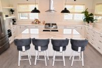 White Kitchen Painted Cabinets Regina Moose Jaw
