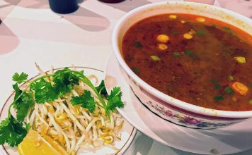 Beef Sate Noodle Soup Spicy Saigon 75 Moose Jaw Vietnamese Restaurant Business