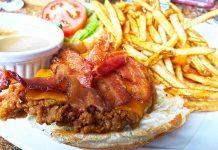 Rosies Crispy Chicken Sandwich Moose Jaw
