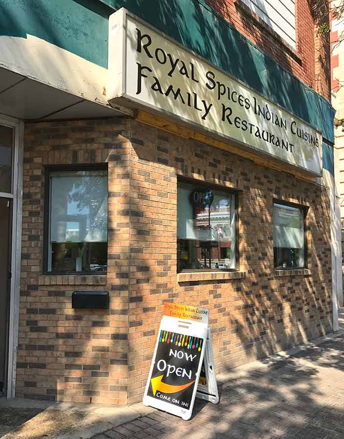 Royal Spices Indian Cuisine Moose Jaw Restaurant