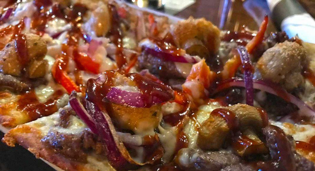 Steak Flat Bread Cask 82 Moose Jaw